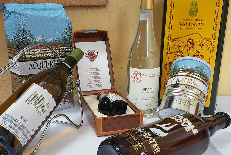 Sale of Typical Emilia Romagna Products